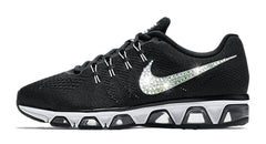 Nike Air Max Tailwind - Crystallized Swarovski Swoosh - Black/White