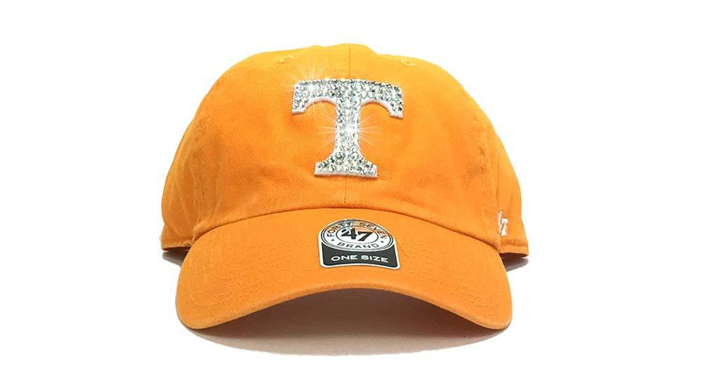 Tennessee Volunteers '47 Brand Adjustable Cap + Custom Swarovski Crystals