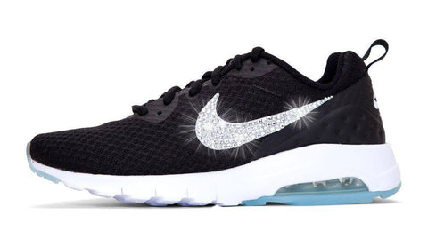 Nike Air Max Motion + Crystals - Black/White