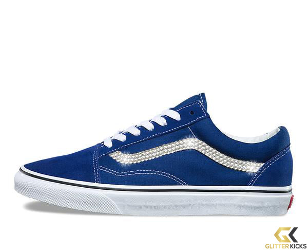 Vans Old Skool + Crystals - Estate Blue