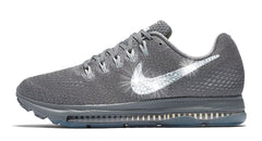 Nike Zoom All Out Low + Swarovski Crystal Swoosh - Charcoal
