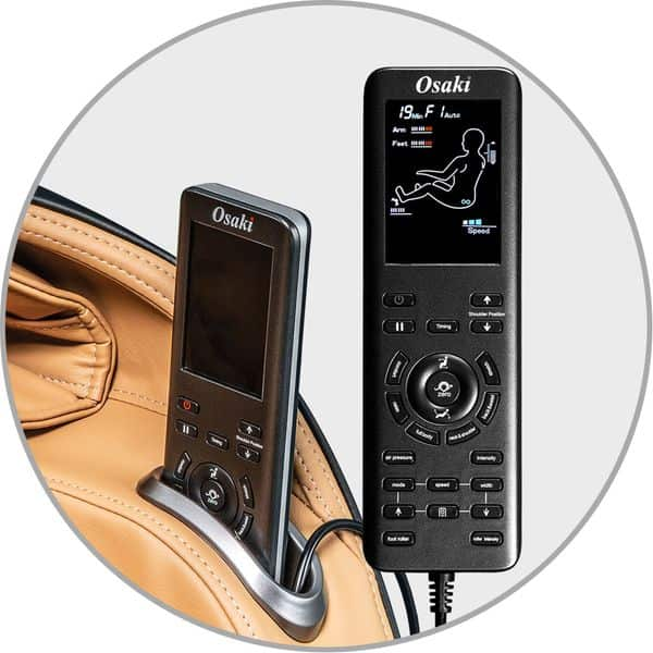 OS-Aster Easy to use LCD Remote