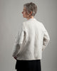 Women's Chore Jacket - repurposed from French linen -- size extra extra small (style 03)
