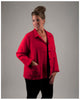 Women's Chore Jacket - New European Linen -- (sizes extra small to extra large)