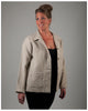 Women's Chore Jacket - New European Linen -- (sizes extra extra small to extra large)