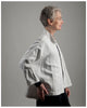 Ellen Jacket - repurposed vintage French linen-size regular-(style 01)
