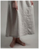 Laura Dress - Repurposed from vintage or antique French linen -- size extra small (style 03)