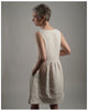 Laura Dress - Repurposed from vintage or antique French linen - size extra extra small (style 01)