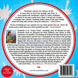"Back Cover of Self Published by The Peanut Dude, ""How The Peanut Dude Found Gratitude"" by Chris Bible (Hardback Copy) - Available nationwide at PeanutDude.com (As seen on CBS Sunday Morning Show)"