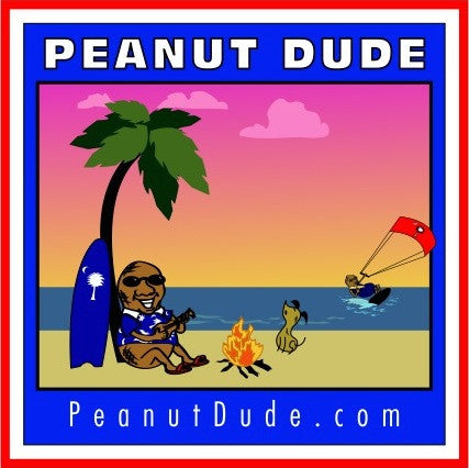 Island Dude Tee - Available nationwide at PeanutDude.com (As seen on CBS Sunday Morning Show)