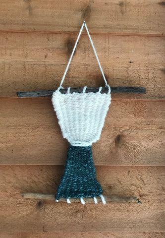 Hand Woven Wall Hanging Art Piece