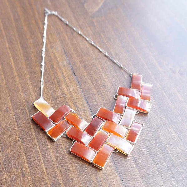 Aliyah Gold Carnelian Necklace