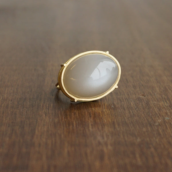 Rosanne Pugliese White Moonstone Ring
