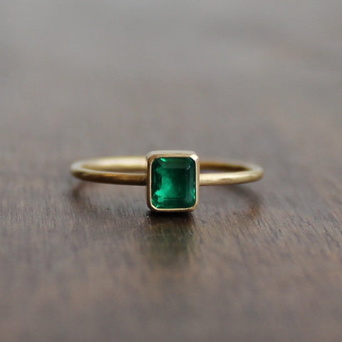 Gabriella Kiss Emerald Ring