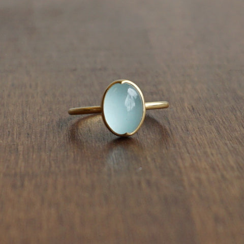 Gabriella Kiss Aquamarine Ring