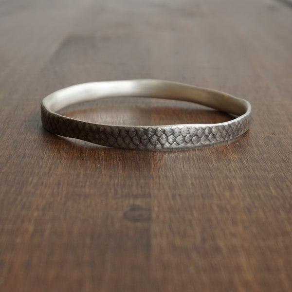 Hannah Blount Fish Scale Bangle
