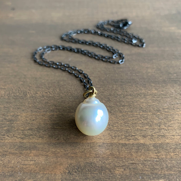 Mimi Favre White Creamy South Sea Pearl Pendant