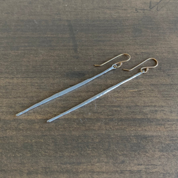 Rosanne Pugliese Sterling Silver Matchstick Earrings