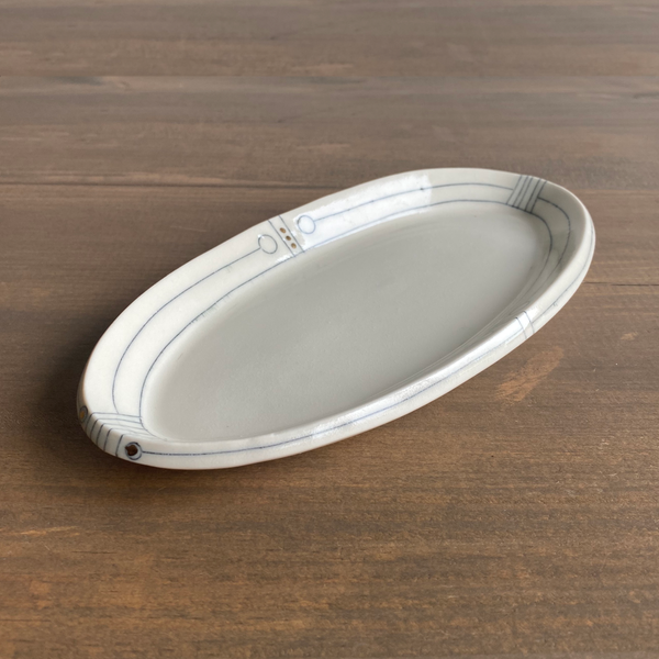 K. Olson Ceramics Small Shallow Tray