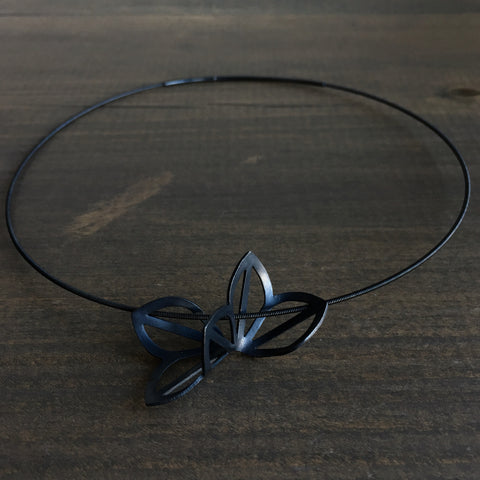 Karin Jacobson Anise Origami Necklace