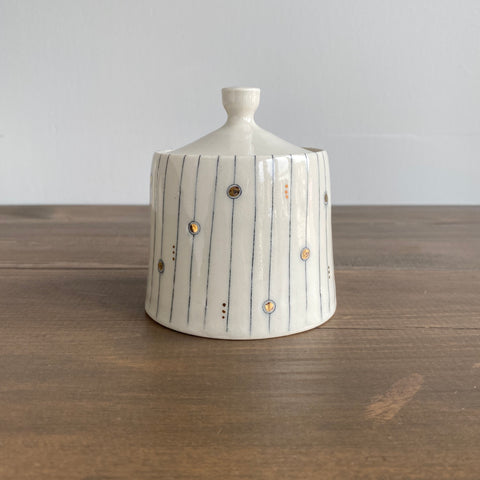 K. Olson Ceramics Small Jar with Lid