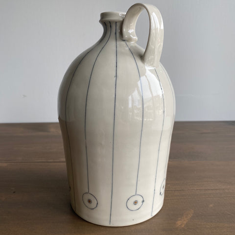 K. Olson Ceramics Medium Jug with Handle