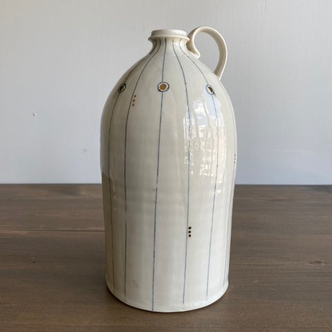 K. Olson Ceramics Large Jug with Handle