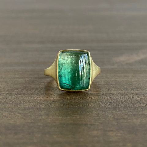 Monika Krol Aquatic Tourmaline Ring