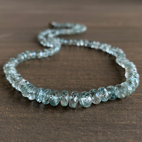 Judi Powers Zircon Beaded Necklace