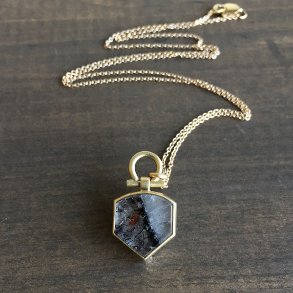 Monika Krol Super Seven Shield Pendant