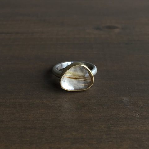 Heather Guidero Rutilated Quartz Ring