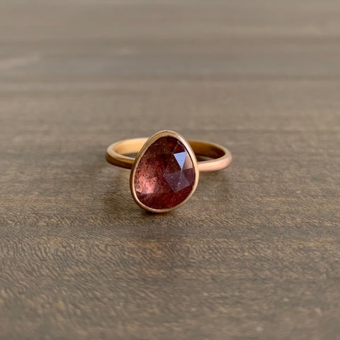 Lola Brooks Natural Red Sapphire Ring