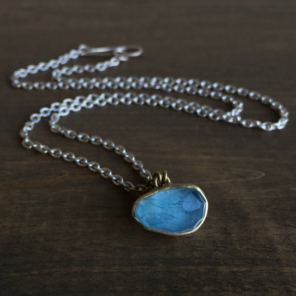 Heather Guidero Aquamarine Necklace