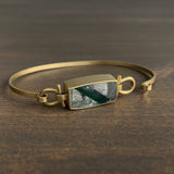 Monika Krol Tourmaline in Quartz Bracelet