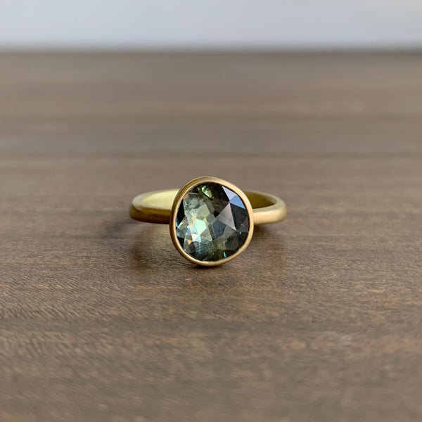 Lola Brooks Natural Grey Sapphire Ring