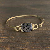 Monika Krol Cushion Cut Montana Agate Bracelet