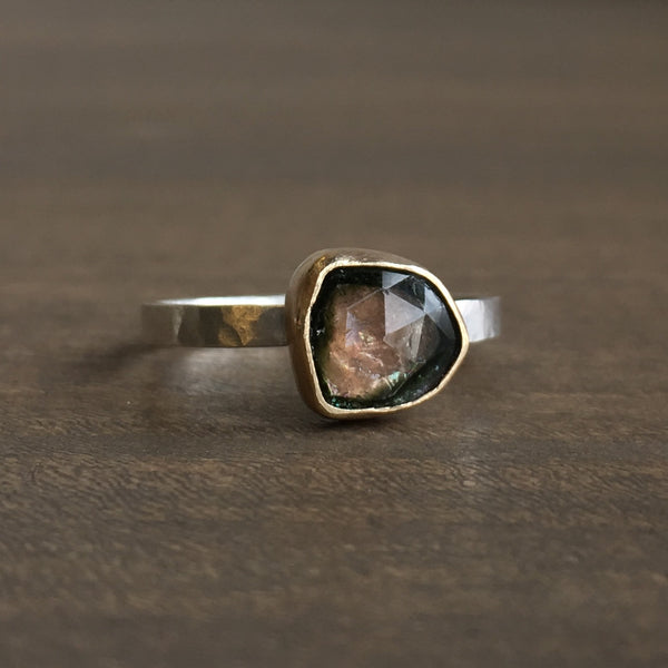 Katie Carder Watermelon Tourmaline Ring