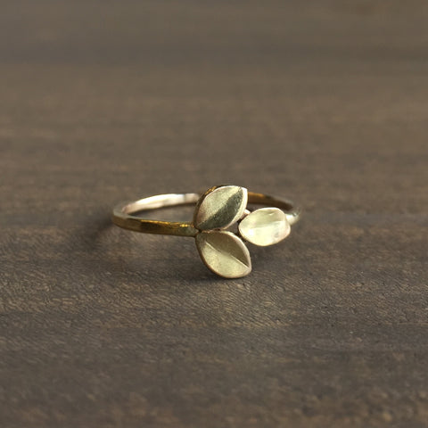 Katie Carder Small Fern Ring