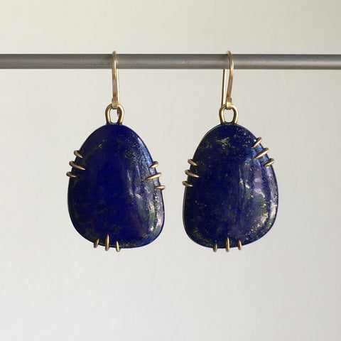 Hannah Blount Adonis Lapis Vanity Earrings