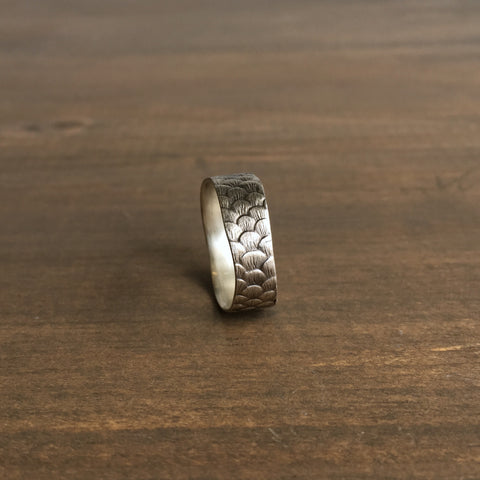 Hannah Blount Fish Scale Ring