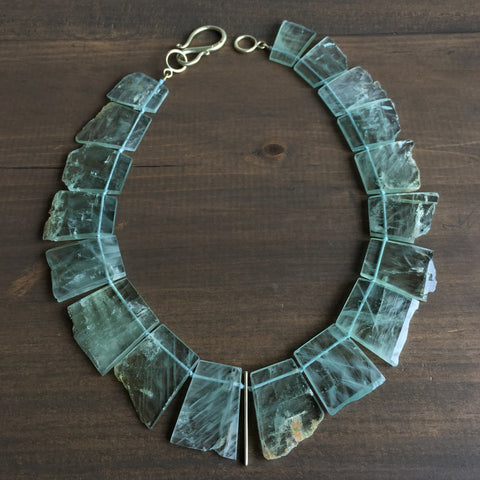 Judi Powers Beryl Plate Necklace