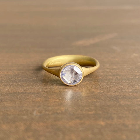 Lola Brooks Round Clear Diamond Ring