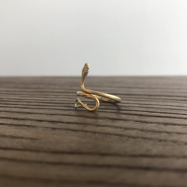 Gabriella Kiss Small Snake Ring