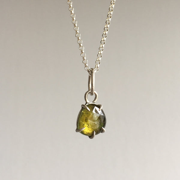 Hannah Blount Juniper Tourmaline Necklace