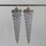 Karin Jacobson Articulated Facets Earrings