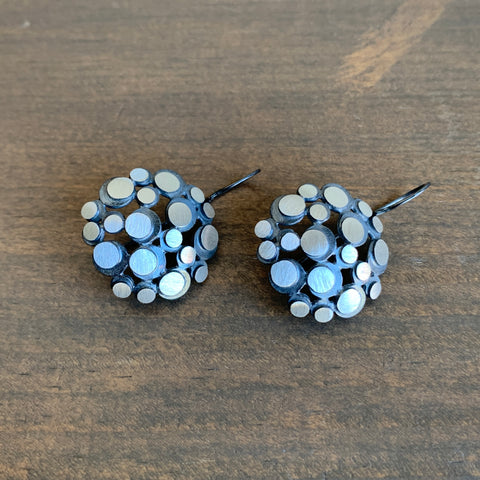 Heather Guidero Eclipse Cell Earrings