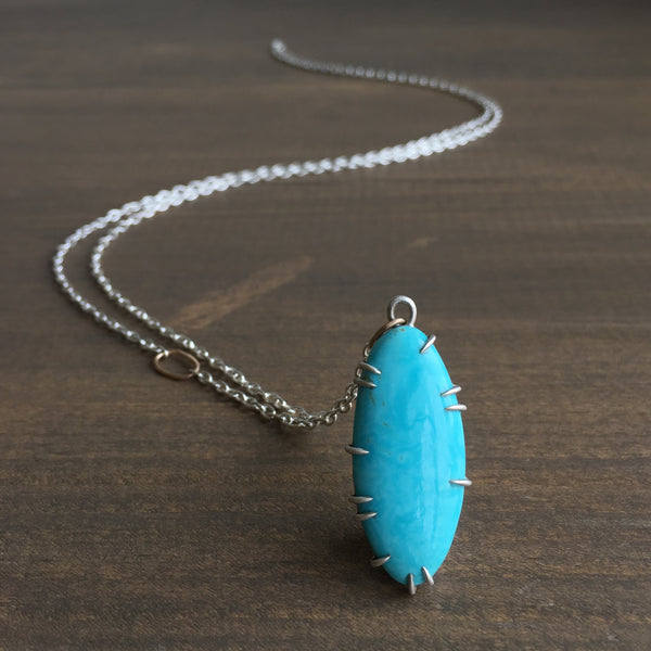 Hannah Blount Undertow Turquoise Vanity Necklace