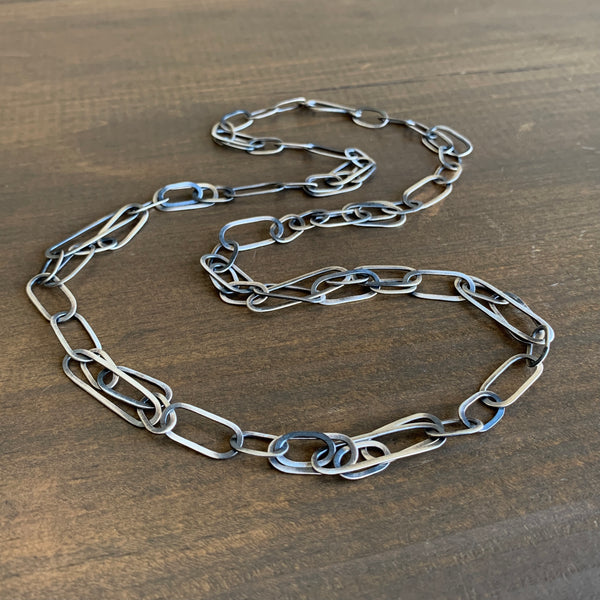 Heather Guidero Oval Tangle Necklace