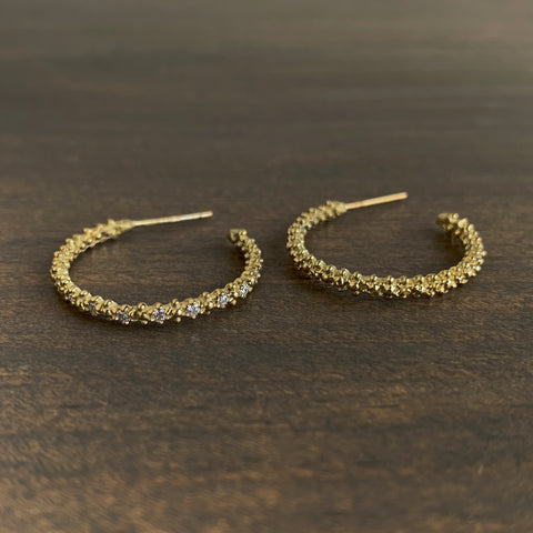 Ruta Reifen Classic Carmel Hoop Earrings