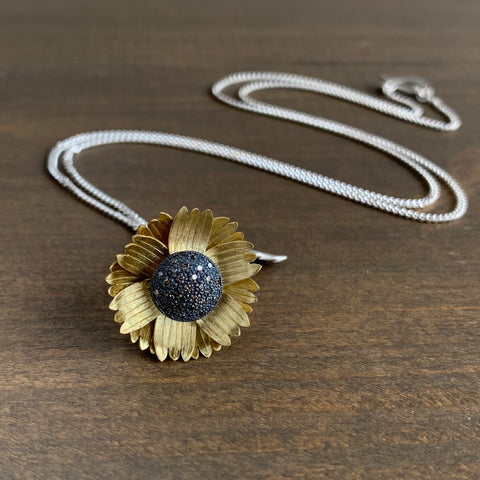 Victoria Walker Sunflower Pendant